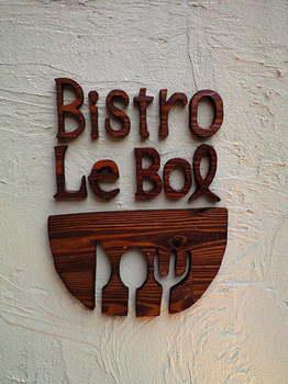 Bistro Le Bol 看板